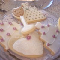 Bridal Shower Decorated Cookies   I made these for my sister in laws bridal shower. No Fail Sugar Cookies with Antonia's Icing.