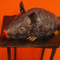 Armadillo My first armadillo - thanks to all who have done this in the past for the inspiration!!!!!!