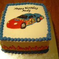 Jeff Gordon Birthday Cake