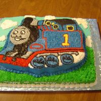 Thomas The Train This was for my nephews 4th Birthday. He is completely addicted to anything Thomas related. He loved the cake, but I found the character...