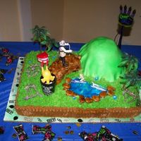 Over The Hill This is a pound cake with buttercream icing made for my sis-in law husband. This cake was the funniest cake ever.Was a hit at the party....