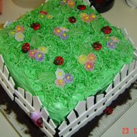 Garden  I love this cake, I made it twice this month! Once for my foster daughter's 1st birthday and for my MOPS group. It is very easy, my...