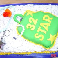 Star's Cake  here is a cake i made today for my friend Star's 32nd bday. She LOVES to shop, jewelry and purses. so i made a red velvet cake w/...