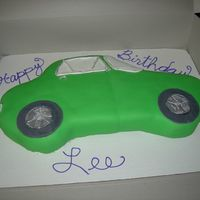 Car (Camaro)  I made this for my friend's birthday, she loves 1st generation camaros. This was my first attempt at a car and fondant, I have room...
