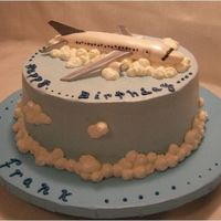 Airplane Cake This cake was for a pilot's birthday.