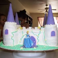 Lexi's Cake My first kinda sculpted cake. I felt okay about it, it gave me a lot of ideas for next time. The four princesses went on all sides of the...