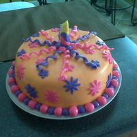 1St Birthday This cake was for my daughter's neighborhood friend.