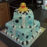 Ducks And Bubbles This cake was inspired by another CC member...can't remember who's pic...sorry.