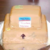 Packed And Ready To Post I know this is a strange cake for anyone to make, but while I was in japan we felt so bad for the postal workers around Christmas time I...