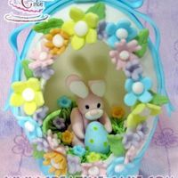 Panoramic Easter Egg Sugarpaste