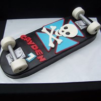 Skateboard Cake All MFF, RKT wheels