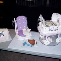 A Baby's Room I made these cakes for my nephews baby shower, unfortunately, i ran out of time so no 3D teddy bear and all cakes where going to be sitting...