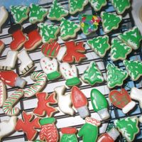 Christmas Mini's Part 2 of my first attempt at cookies. NFSC with Antonia's RI. TFL