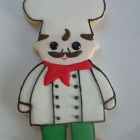 124360677897941.jpg Chef cookie inspired by a clip art I found. My entire kitchen is decorate in Fat Chef things and I love little chefs so I found this and...