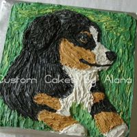 Berner We're having a surprise party for my MIL's 60th birthday today. My FIL asked me to put a Berner on her cake. They breed them. I...