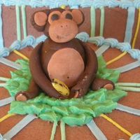 Poor Monkey This lil guy only had 20 minutes to put together and the fondant didn't want to work with me! I was in such a rush that I forgot to...