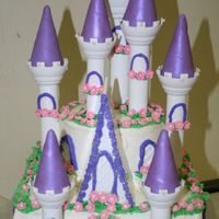 Castle Cake I loved this kit. theme for the party was beauty and the beast so i made the castle too. thanks for looking