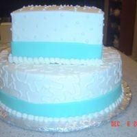 Tiffany Blue   Not my design...this is what the couple wanted... from a picture