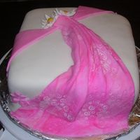 Backside Of 1St Fondant Cake This is the drape that is on the back of the cake..the front side is also in my photos