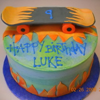 Skateboard Cake I got the idea for this cake from all the cool skateboard cakes on CC. I had no idea what to do, so I am grateful for all the great photos...