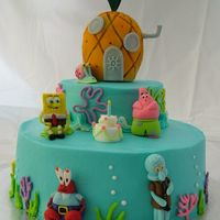 Tommy's Spongebob Cake My son's 5th birthday cake. A lot of work but also a lot of fun!