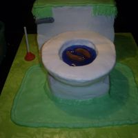My Version Of A Toilet Cake SLK gave me instructions for how to do this cake, and it helped greatly! Many thanks to her! I put too many dowels thru the 'bowl&#039...