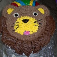 Baby Einstien Lion I made this for my daughter's first birthday party. There aren't really any Baby Einstien cake pans so I had to get creative. It...