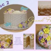 Wilton Course Ii Final Cake Its funny to go back and look at pictures of cakes I did a while back. Just wanted to add this to my album since I have my Course III final...