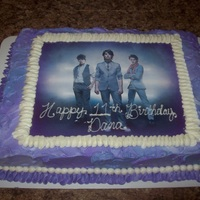Jonas Brothers Birthday Cake