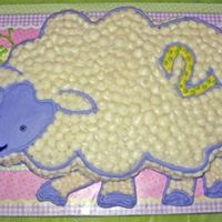 """lammy"" This was for my daughter's 2nd birthday - a replication of her little wool lamb-shaped security blanket which we call Lammy. All..."