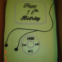 Ipod, Mp3   9x13, buttercream, quick and simple ;-)