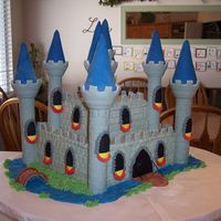 Castle Cake Second View
