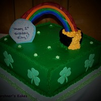 St. Patty's Birthday Made this for a lady whose daughter turned 1 on St Patty's day and she wanted a St Pattys theme. TFL.