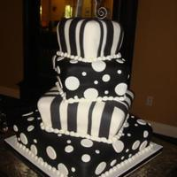 Topsy-Turvey Wedding Cake