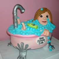 Bubble Bath Cake