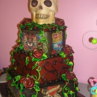 Ed Hardy Birthday Cake