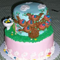 Bird Family Tree Cake I made this cake for my Gradma Bird's 88th birthday and literally constructed the Bird family tree. In addition to having the last...