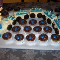 Blues Clues Train Cake What can I say, wanted to make a Blues Clues cake that was original!