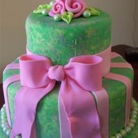 Green/pink Wedding