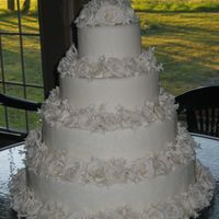 Img_1712.jpg 1st wedding cake for my niece (fondant w/gum paste flowers