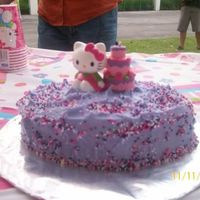 My Goddaughters 1St Bday Cake   THIS CAKE WAS JUST FOR HER