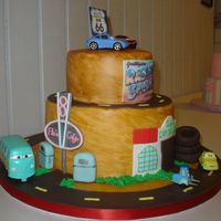 Radiator Springs 2 Here is the other side of the cake