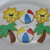 Summer Cookies Better Crocker sugar cookie recipe with Toba's Glace.