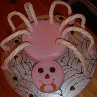 Girls Spider Cake