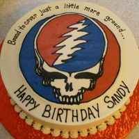 Steal_Your_Face_Web.jpg Frozen Buttercream Transfer of Grateful Dead's Steal Your Face 'Stealie'. My first attempt at this technique. Very surprised...