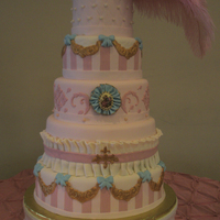 Marie Antoinette Cake 15 hours just to decorate. And it was really, really heavy.