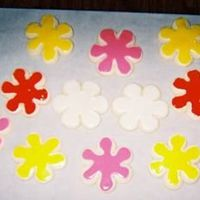 "Flowers Flowers to go along with my ""bug"" cookies."
