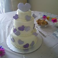Bridal Shower I made this WASC for my best friend's Bridal Shower. I'm so happy this cake is done! I was having a terrible time with bulging...