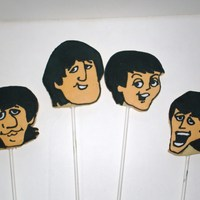 Beatles Cookies I did these cookies for my friend's son,who is a huge beatles fan. They were so fun to make. They are NFSC with royal icing.