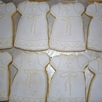 Baptism-Christening Dress These are nfsc with royal icing.